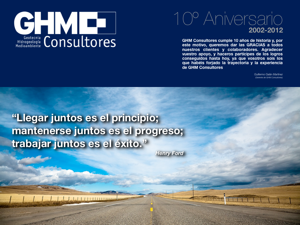 Tarjeta Felicitación 10 años