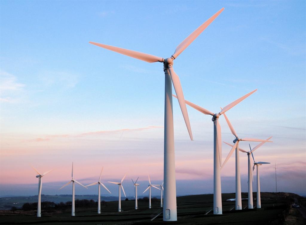 Wind farm Charles Cook